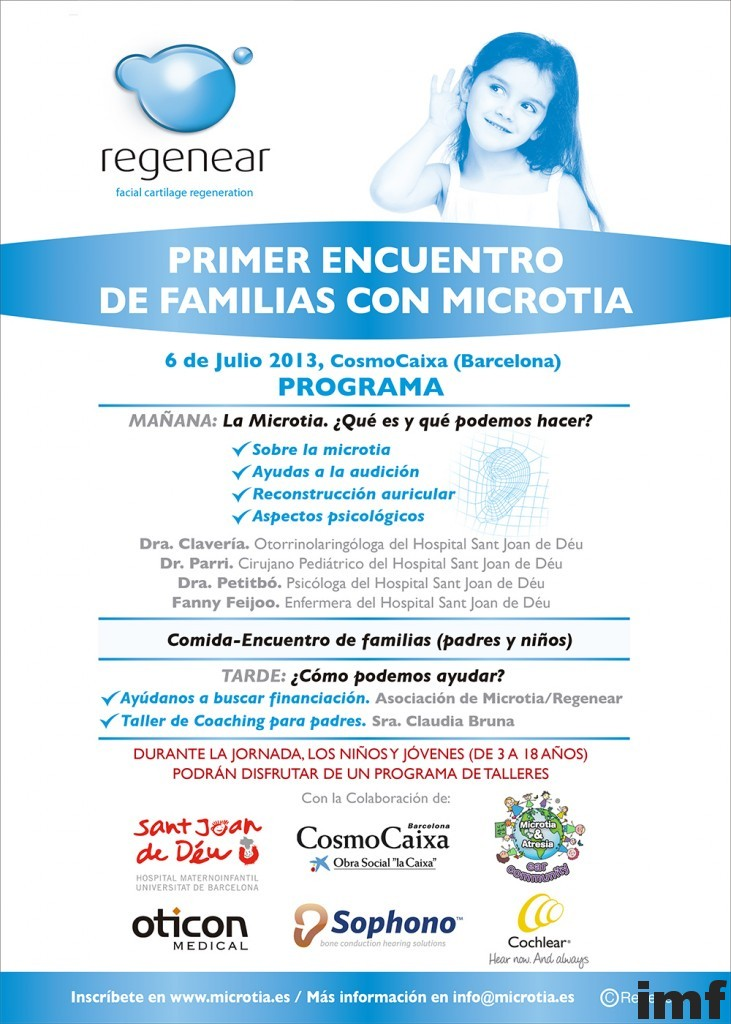 Primer Encuentro de Familias con Microtia